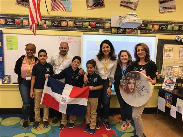 Celebrating all the cultures at Jefferson School: Multi-Cultural Day 2019