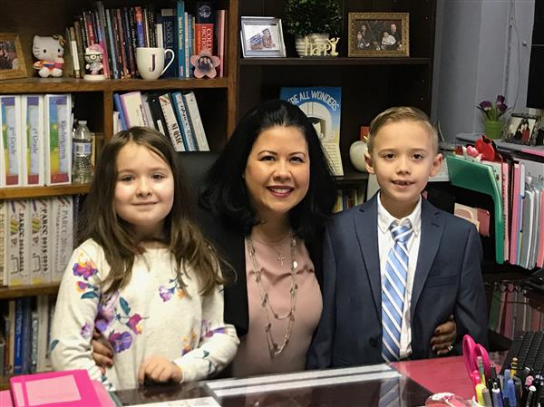 Principal for the Day: Kevin Fonseca and Allyson Lima :)