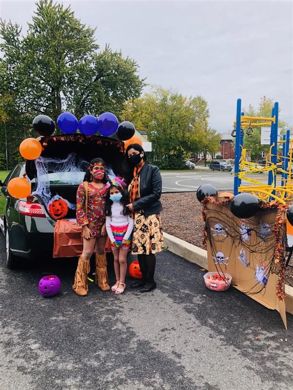 Thank you for volunteering and participating in our Trunk or Treat!